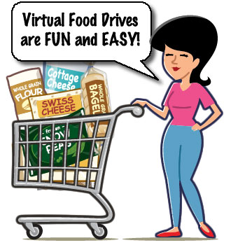 Virtual Food Drives are Fun and Easy
