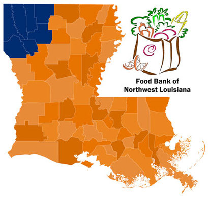 No Profit - Food Bank of Northwest Louisiana - Louisiana State