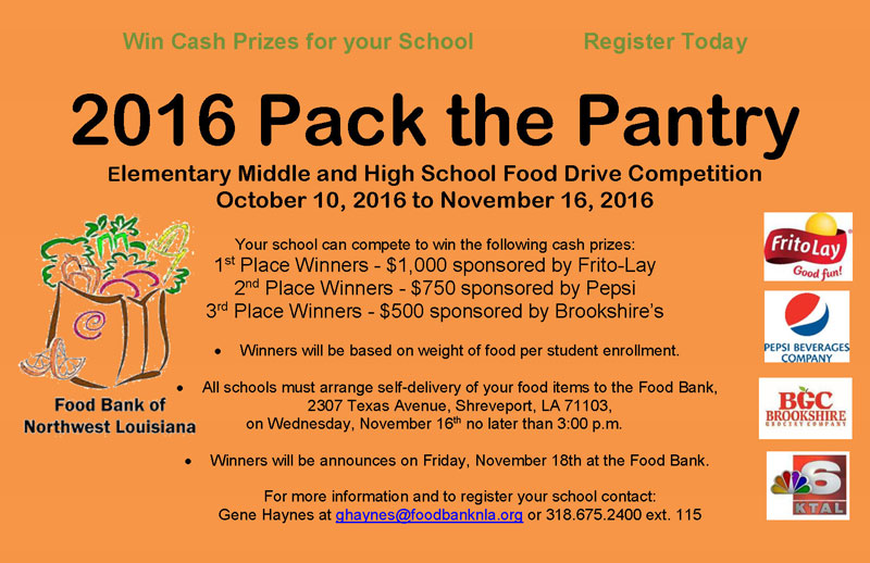 2016 Pack the Pantry